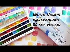 st petersburg white nights watercolors 36 pans review