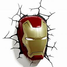3d fx marvel wall lights spiderman iron man thor hulk marvel avengers 3d wall light hulk iron man captain