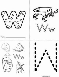 pre k worksheets letter w 24429 letter w w book from twistynoodle letter w activities preschool letters letter a crafts