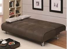 futon beds coaster sofa beds and futons transitional styled futon