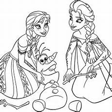 12 free printable disney frozen coloring pages