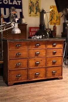 meuble de metier ancien deco loft meuble de metier