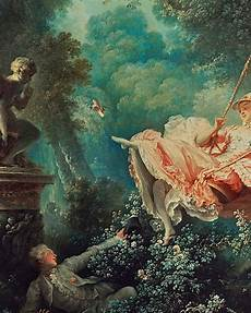the swing the titillating rococo world of quot the swing quot by fragonard