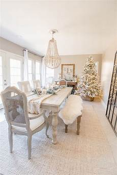 bright white dining rooms