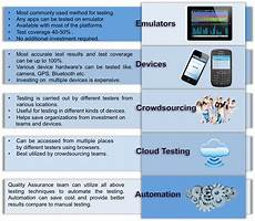 test mobile mobile app testing strategies and best practices