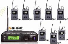 High Quality 1pcs Transmitter 820tx With 8pcs Receivers