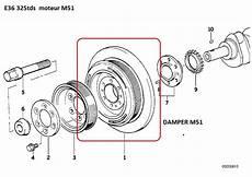 bmw e36 325 tds an 1996 bruit moteur