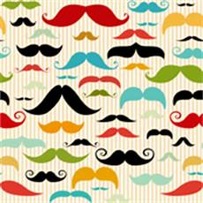 mustache stripes by insomniac designs spoonflower digitally printed fabric wallpaper gift