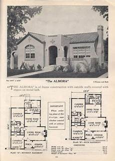 spanish colonial revival house plans 1928 home builders catalog spanish colonial revival