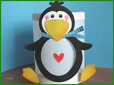 pinguin basteln vorlage kostenlose vorlagen zum