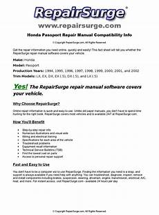 how to download repair manuals 1997 honda passport electronic valve timing honda passport online repair manual for 1994 1995 1996 1997 1998 1999 2000 2001 and 2002
