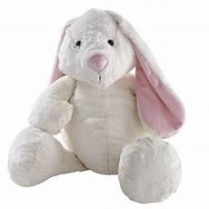 Peluche Lapin Blanche H 40 Cm Bunny Maisons Du Monde