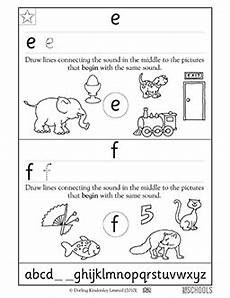 letter e reading worksheets 24118 1st grade kindergarten preschool reading writing worksheets practicing letters e and f with