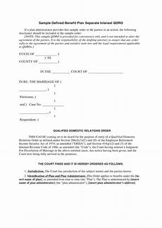 qdro form templates free to download in pdf format