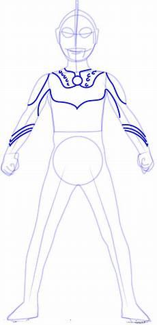 Anime Malvorlagen Indonesia Mewarnai Sketsa Gambar Ultraman Zero Terbaru Kataucap