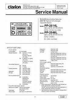 clarion cx609 wiring diagram