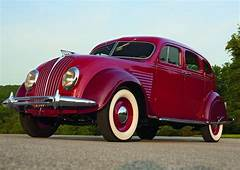 Fashioned By Function  1934 De Soto Airflow Design