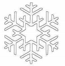 free printable snowflake templates large small stencil