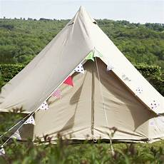 5m sandstone bell tent with zipped in ground sheet ebay