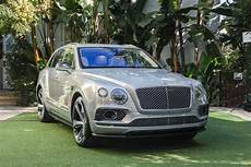 Bentley Unveils Bentayga Edition Suv