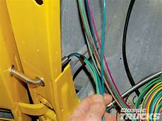 how to install a wiring harness for a trailer hitch aftermarket wiring harness install rod network