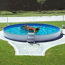 Stahlwandpool 216 500x150cm Schwimmbecken Swimming Pool