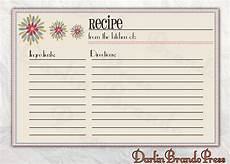 5x7 recipe card template free free editable recipe card templates for microsoft word