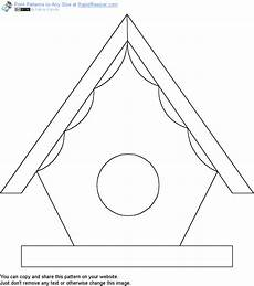 free birdhouse pattern