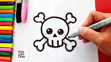simbolos para dibujar faciles c 243 mo dibujar una calavera kawaii s 237 mbolo de muerte how to draw a cute skull youtube