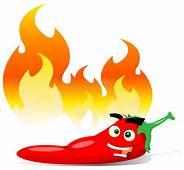 Cartoon Red Hot Chili Pepper Stock Illustration