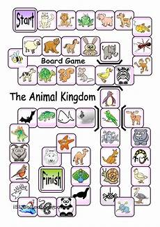 animal kingdom worksheets for kindergarten 14201 board the animal kingdom language esl efl learn vocabulary and