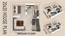 20x20 house plans 20x20 house plan 400 sqft house design by nikshail youtube
