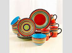 Fiesta Spring Pueblo 16 Piece Dinnerware Set and similar items