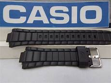 Black Replacement Band Edifice casio band efr 519 black resin watchband
