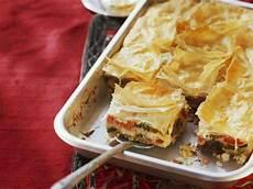 yufka teig rezept vegetables and feta bake with yufka dough burek recipe