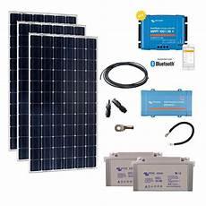 kit solaire autonome 3x200w 230v monocristallin