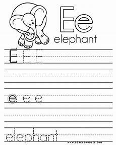 letter e worksheets preschool 23268 letter practice e worksheets dorky doodles