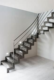 escalier en acier escalier un quart tournant avec limon cr 233 maill 232 re et