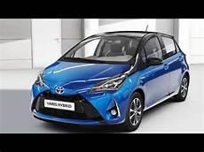 2018 Toyota Yaris Hybrid Interior And Exterior Design