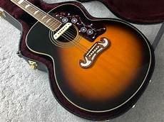 Epiphone Ej200 Acoustic Guitar And With Lr Baggs