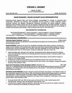 objective resume senior sales executive free sles