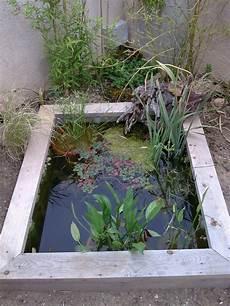 bassin miniature pour petit jardin