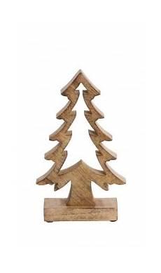 Tanne Aus Holz Holztanne Braun Deko Weihnachtsdeko