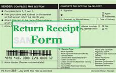 usps return receipt form domestic ps form 3811