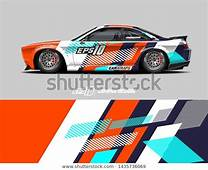 Find Car Racing Decal Design Concept Abstract Stock Images