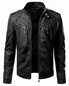 veste style motard homme 84241 homme veste de cuir noir style motard s m l xl 2xl nouveau blouson b31 en veste vetement