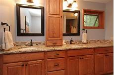 Bathroom Ideas With Oak Cabinets by Master Bath Tune Up Traditional Bathroom Grand