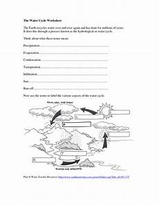 10 best images of water cycle worksheet 5th grade water cycle worksheet coloring page 6th