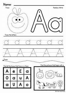 alphabet worksheets by from the pond teachers pay teachers