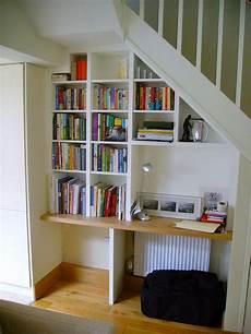 Regal Mit Schreibtisch Unter Treppe Fabriquer Un Bureau